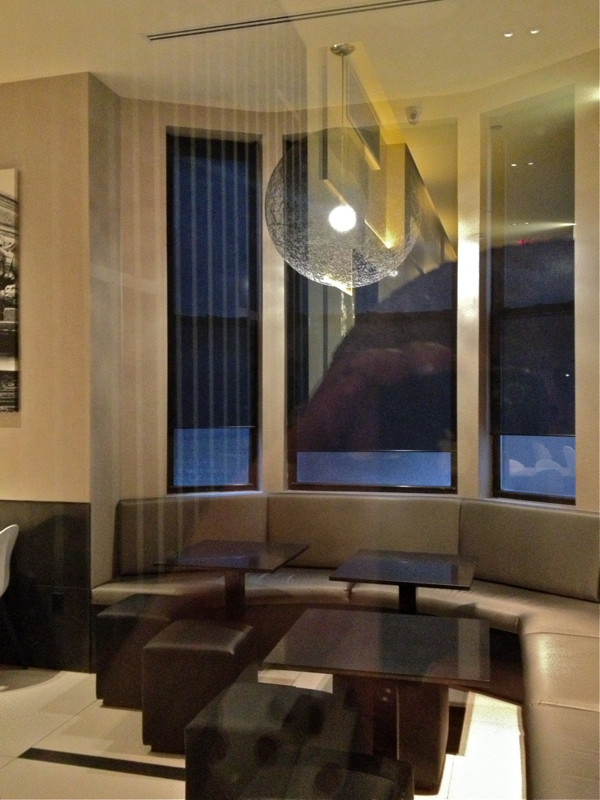 Roller shades with Black color sheer, manual